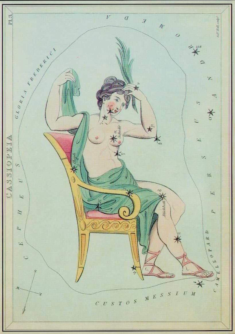 cassiopee mythologie